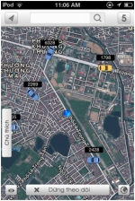 Ứng dụng Taxi Tracking